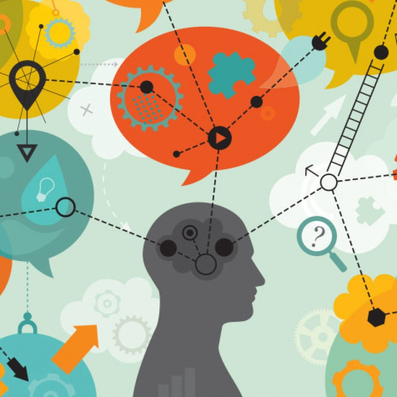 person-thinking-ideas-linked